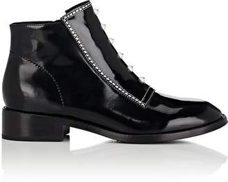 Opening Ceremony WOMEN'S RYDER SPAZZOLATO LEATHER ANKLE BOOTS