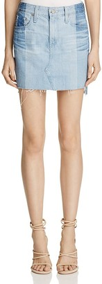 AG Sandy Denim Skirt in 19 Year Fracture $178 thestylecure.com