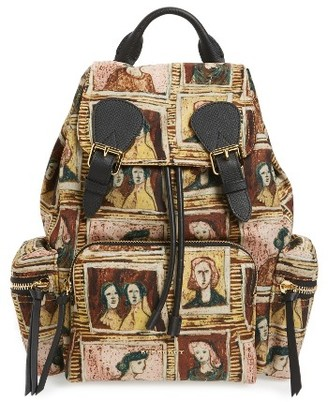 Burberry Medium Henrey Backpack - Brown $1,495 thestylecure.com