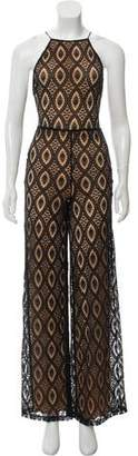 Nightcap Clothing Lace Sleeveless Jumpsuit w/ Tags