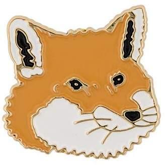MAISON KITSUNÉ Fox head pin