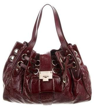 Jimmy Choo Patent Leather Ramona Tote gold Patent Leather Ramona Tote