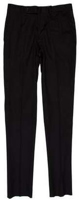 Sacai Flat Front Tuxedo Pants