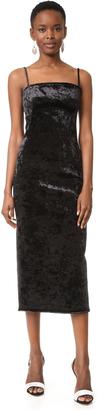 Black Halo Constance Velvet Dress $525 thestylecure.com