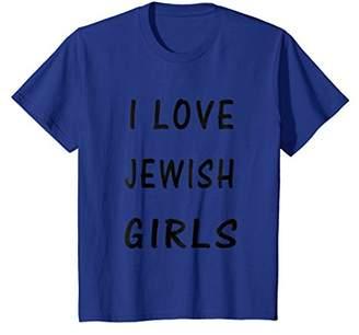 I love Jewish girls T-shirt