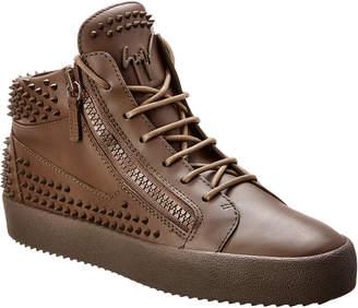 Giuseppe Zanotti Kriss Stud Leather Sneaker