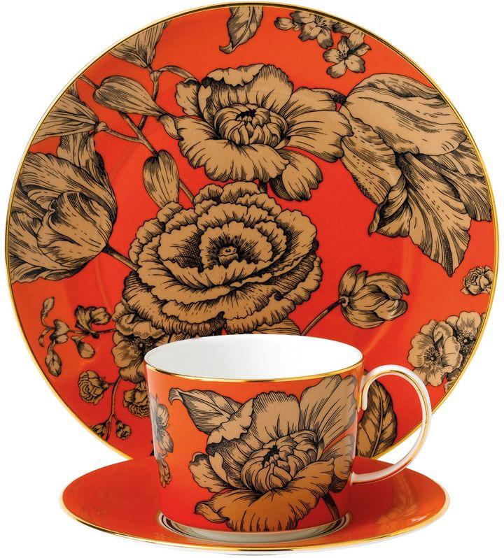 Wedgwood® Vibrance 3-Piece Place Setting in Orange