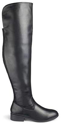 41318f4f107f Ivy Over The Knee Boots Super Curvy Calf Extra Wide EEE Fit