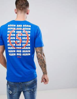 ONLY & SONS 'Again' Repeat Back T-Shirt