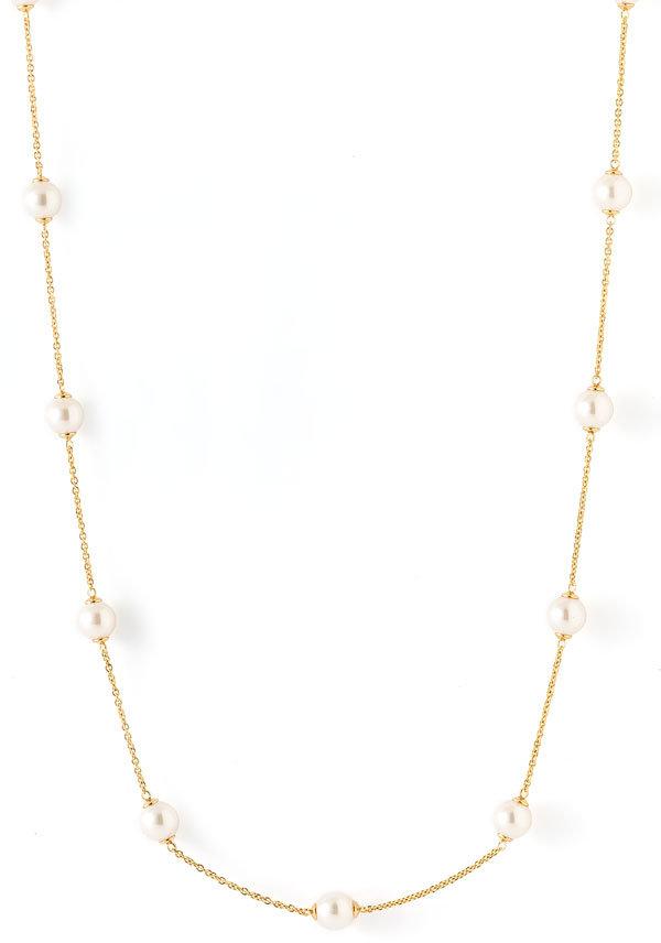 Majorica 8mm Pearl Illusion Necklace