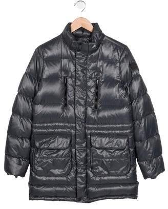 ADD Boys' Puffer Zip-Up Coat