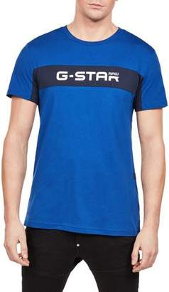 G Star G-Star Men's Logo Typographic T-Shirt