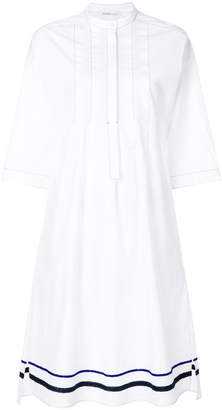 Agnona flared shirt dress