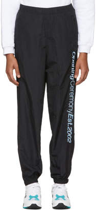 Opening Ceremony Black Crinkle Jogging Pants