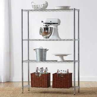 """Wayfair Basics Wayfair Basics 54""""H x 36""""W 4 Shelf Shelving Unit"""