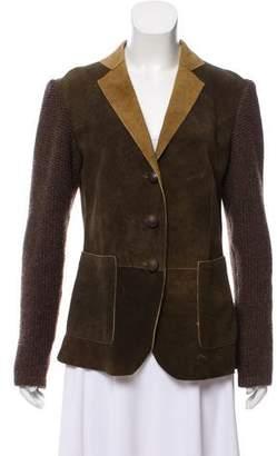 Meindl Leather & Virgin Wool Jacket