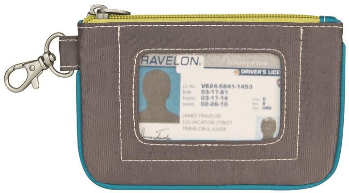 Travelon RFID-Blocking Daisy Zip ID Pouch