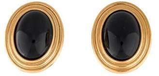 Lanvin Resin Clip-On Earrings