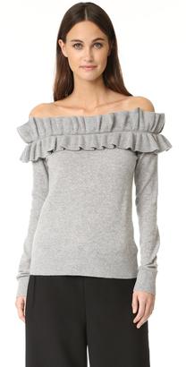 Club Monaco Perrinney Cashmere Sweater $289 thestylecure.com
