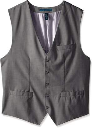 Perry Ellis Men's Big-Tall Big and Tall Solid Texture Suit Vest