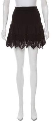 Ulla Johnson Scalloped Eyelet Skirt