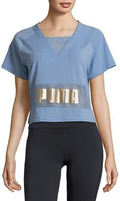 Puma Women's Logo Print Top