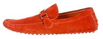 Louis Vuitton Suede Initiales Loafers