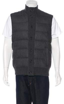 Michael Kors Quilted Wool Vest