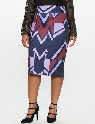 Plus Size Neoprene Pencil Skirt $59.90 thestylecure.com