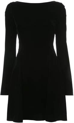 Derek Lam 10 Crosby Long sleeve lace-up back dress