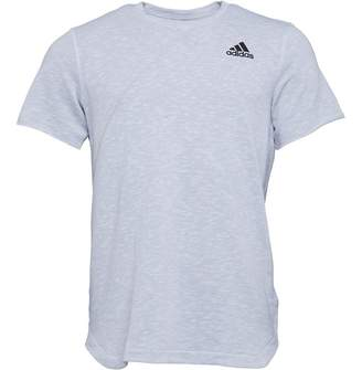 adidas Mens Cross-Up T-Shirt White/Grey Two/White