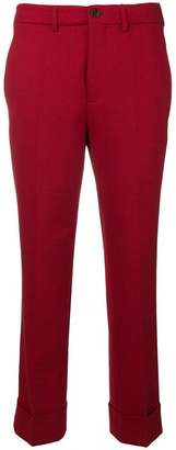 Incotex tailored straight trousers