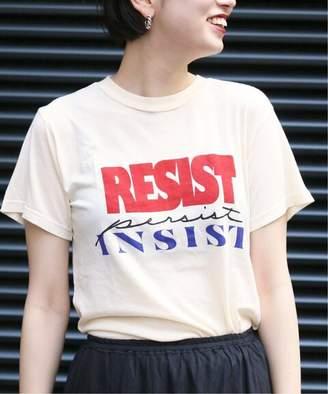 CITYSHOP (シティショップ) - CITYSHOP 【MONOGRAM】 Resist Persist Insist Tシャツ