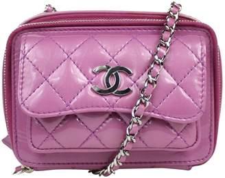 Chanel Purple Patent leather Handbag