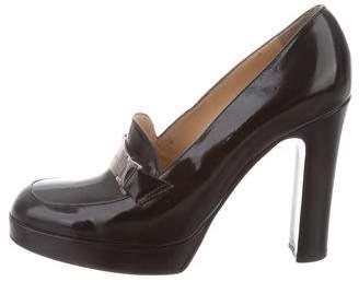 Dolce & Gabbana Leather High-Heel Pumps