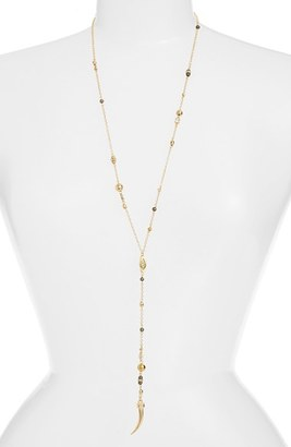 Women's Ettika Beaded Tooth Necklace $59 thestylecure.com