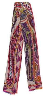 Etro Wool & Silk-Blend Stole