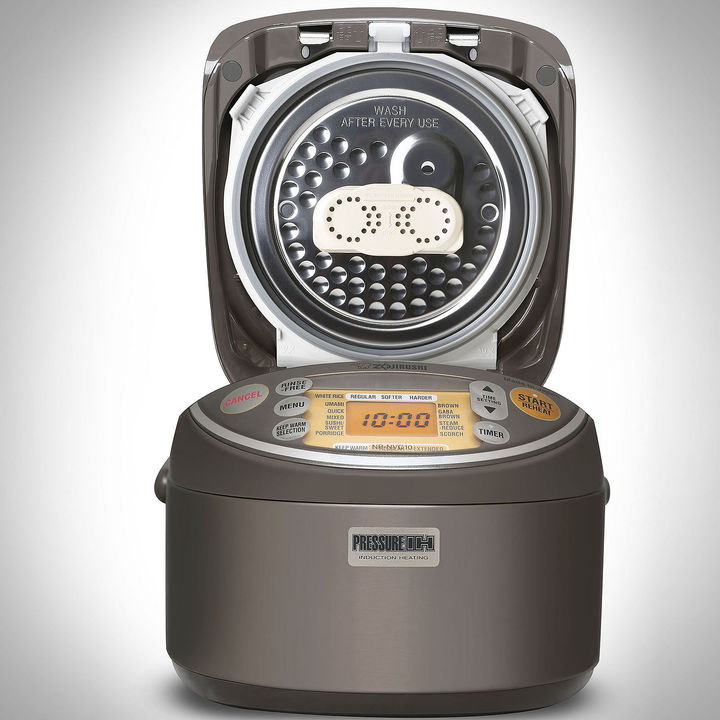 Zojirushi ZOJIRUSHI Zojirushi 5-Cup Induction Heating Pressure Rice Cooker and Warmer