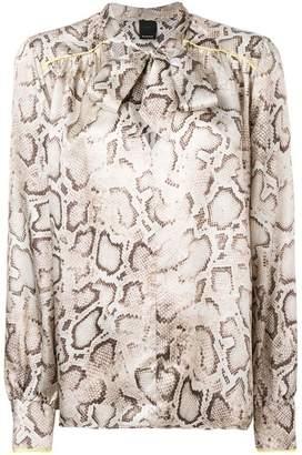 Pinko snake print blouse