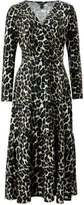 Baukjen Abigail Dress In Leopard Print
