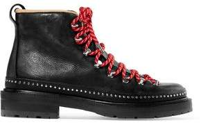 Rag & Bone Compass Shearling-Lined Leather Ankle Boots