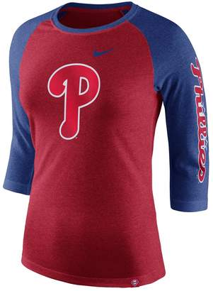 Nike Women's Philadelphia Phillies Triblend Tee