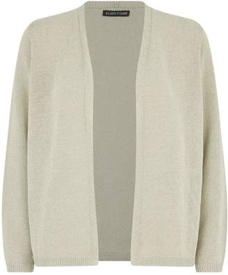 Eileen Fisher Metallic Shine Cardigan