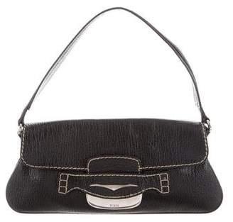 Tod's Pebbled Leather Shoulder Bag