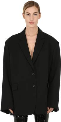 Maison Margiela Oversized Wool Blazer Jacket