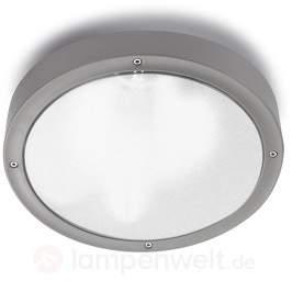 Basic runde Außenwandleuchte in 2 Größen