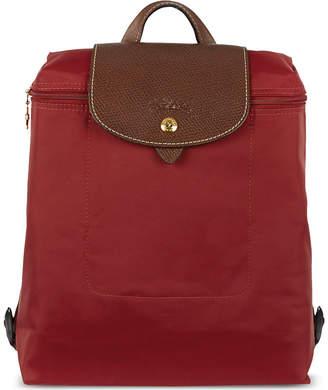 Longchamp Ladies Black Classic Le Pliage Backpack