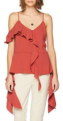 Endless Rose Women's Abigail Blouse,(Manufacturer Size:Medium)