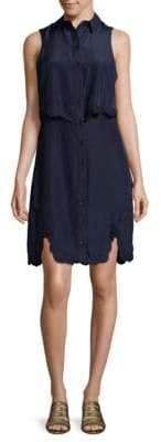 Parker Overlay Shirtdress