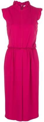 Givenchy frill collar midi shift dress